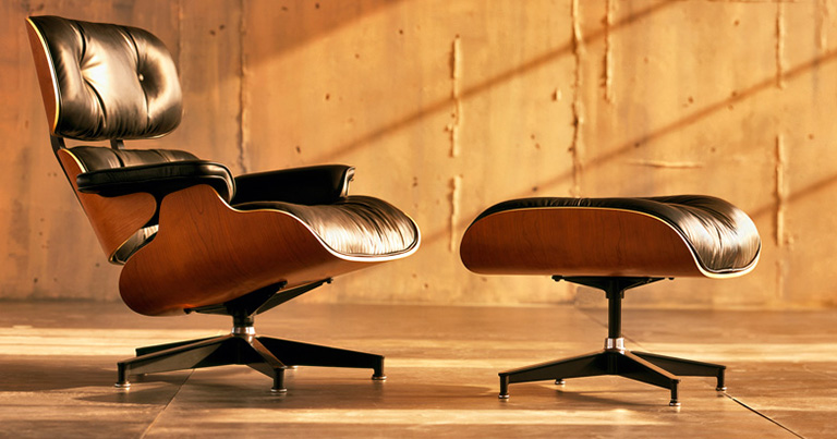 El sillón Lounge Chair de Eames es tendencia